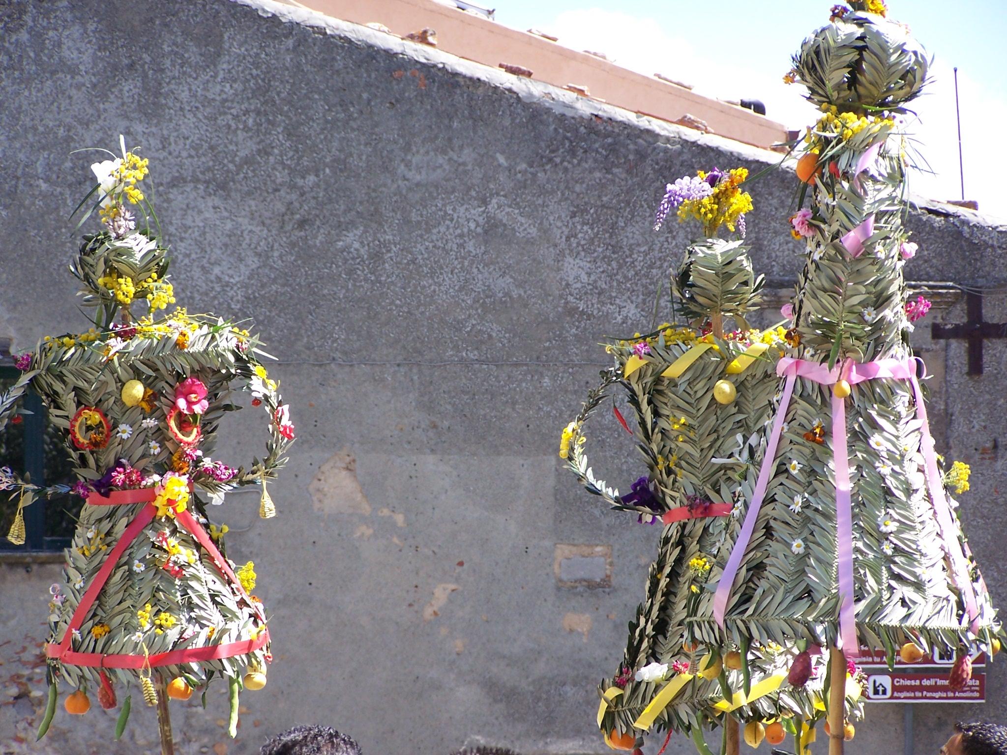 Bova Camere Da Letto.Calabria Greca Festa Delle Pupazze Di Bova Domenica Delle Palme